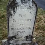 Gravestone of Jacob Cox