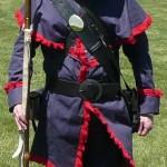 1812 Militia Uniform worn by Paul Bess