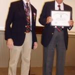Burton-Bradshaw-receives-Certificate
