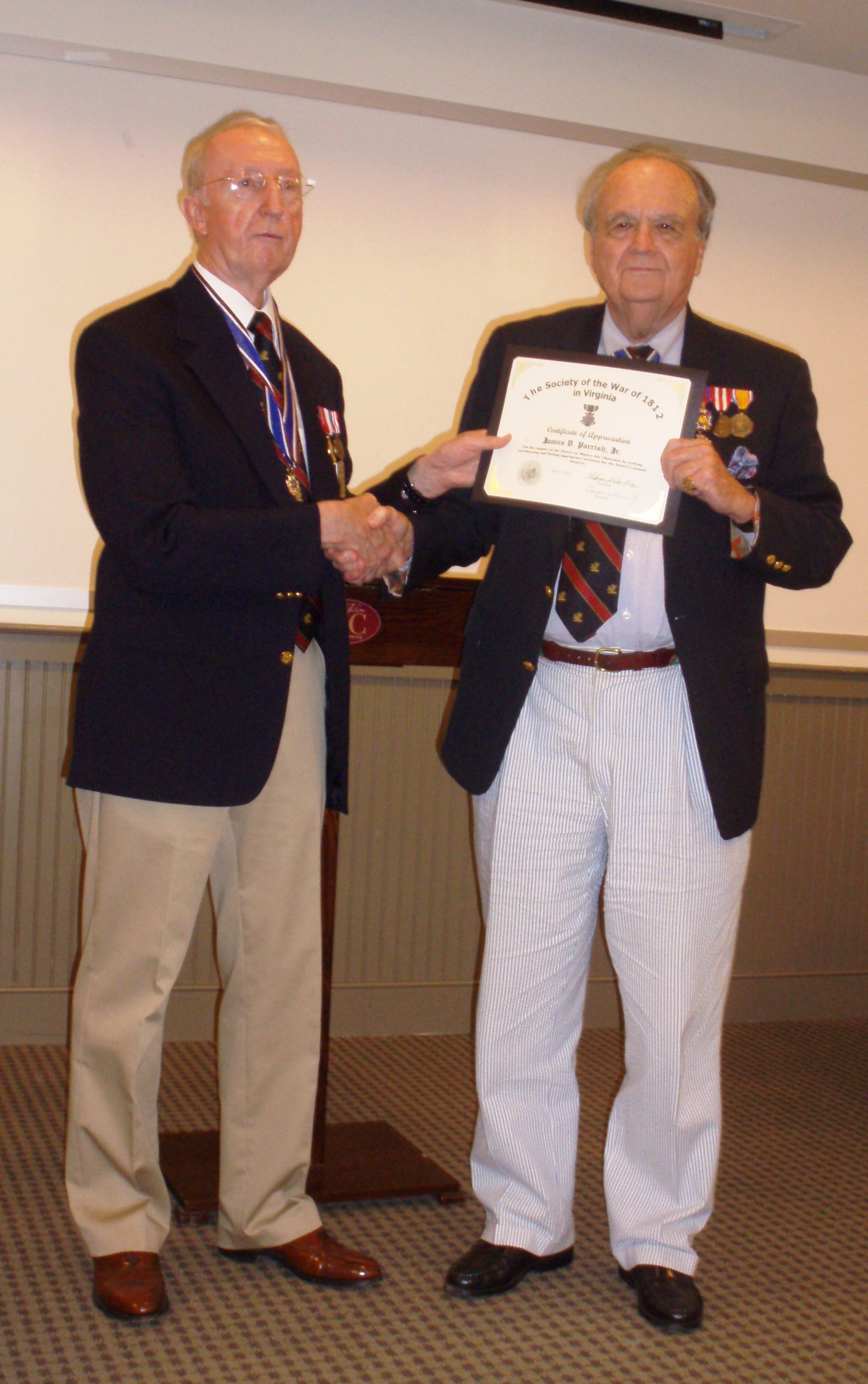Jim-Parrish-receives-Certificate