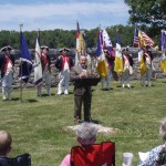 President Bob Bowen of VASSAR presents remarks
