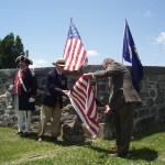 Presidents Hartman & Bowen unveil the plaque