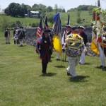 VA Society Order Founders & Patriots of America presents wreath