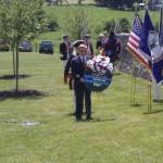 George Washington Chapter SAR presents wreath