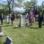 Upper cemetery ceremony