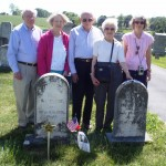 Descendants of Jacob Cox & his wife attend ceremony