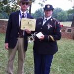 Sgt-Brewton-Bugler-receives-Certificate